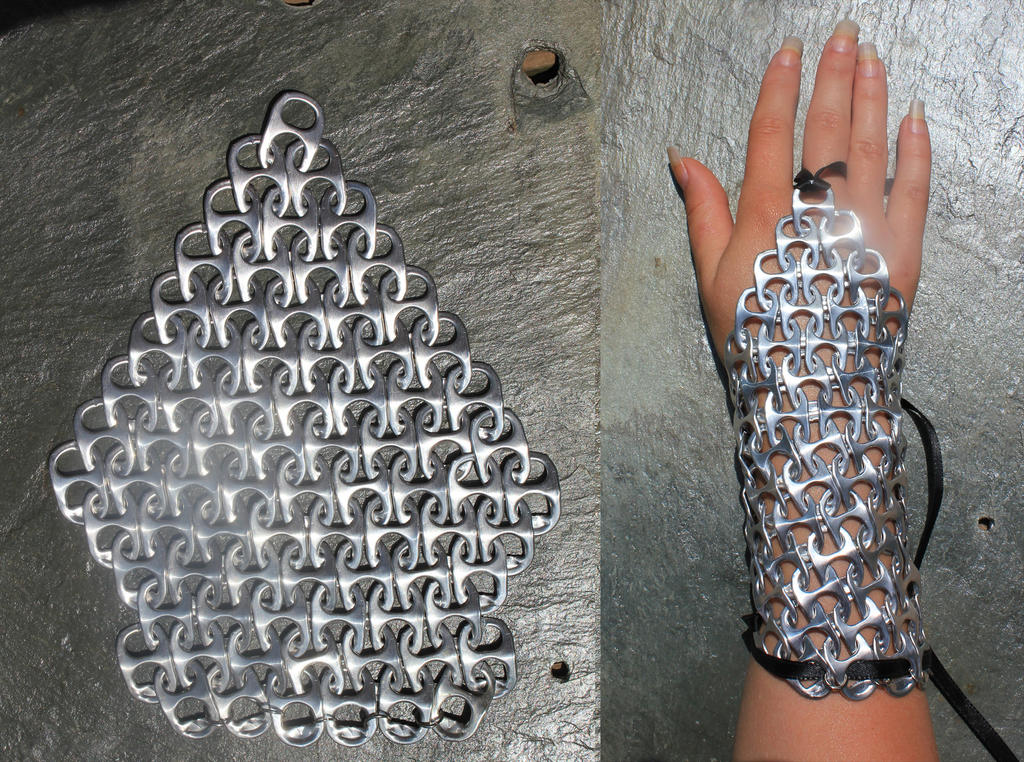 Chainmail Hand Guard by Thy-Darkest-Hour