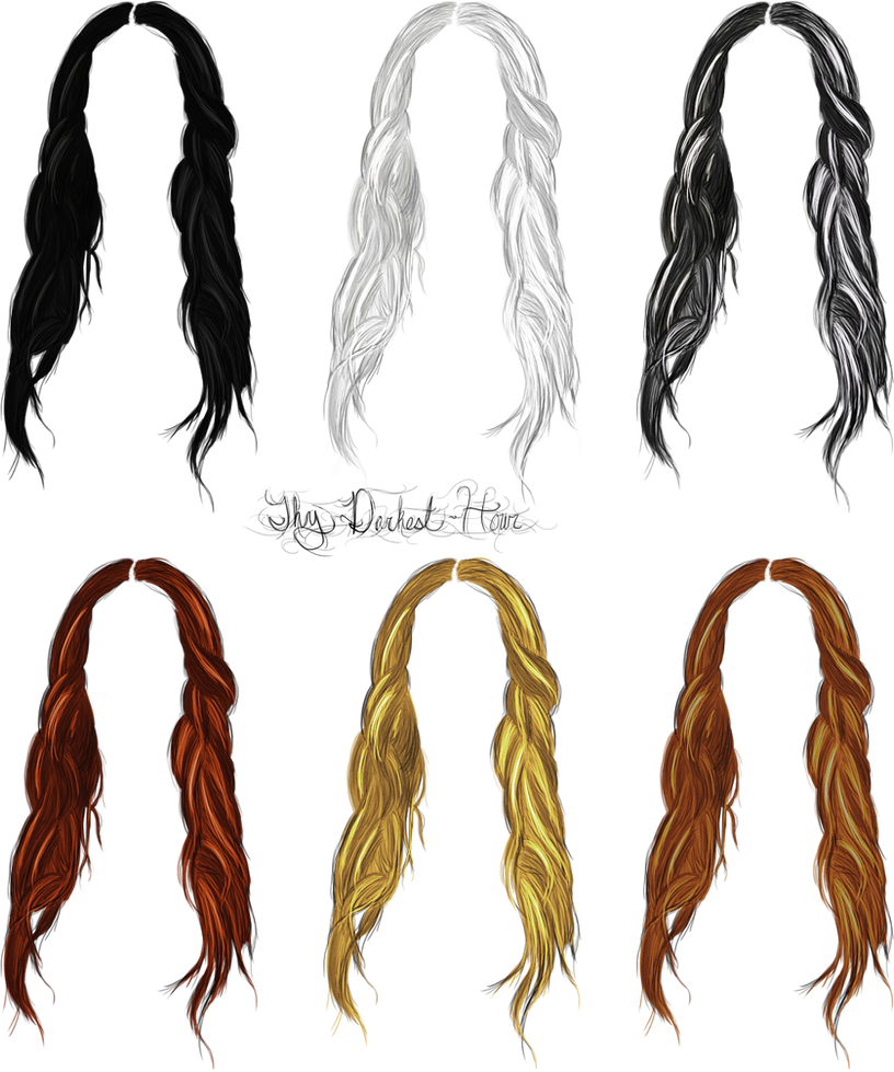 Hair Stocks 08 by Thy-Darkest-Hour