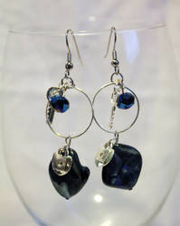 Shell Lock and Key Earrings - FOR SALE by Thy-Darkest-Hour