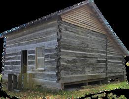 Pioneer Cabin 01 - PNG by Thy-Darkest-Hour
