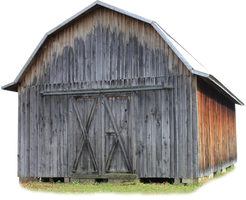 Pioneer Barn - PNG by Thy-Darkest-Hour