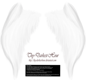 My Soul to Keep Wings - White (Free)