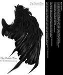 Feathered Demon Wings 02