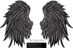 Frill and Fluff Wings - Silver