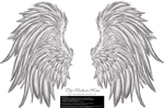 Frill and Fluff Wings - White