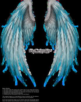 Winged Fantasy V2 - Phoenix Blue by Thy-Darkest-Hour