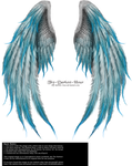 Winged Fantasy V2 - Phoenix Blue