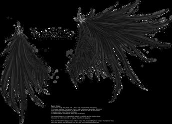 Wicked Wings - Black
