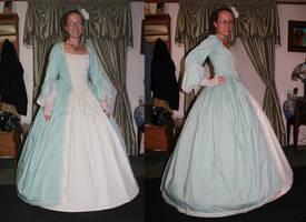 Victorian Ballgown by Thy-Darkest-Hour
