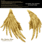 Enchantress Wings - Golden