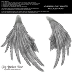 Enchantress Wings - Silver