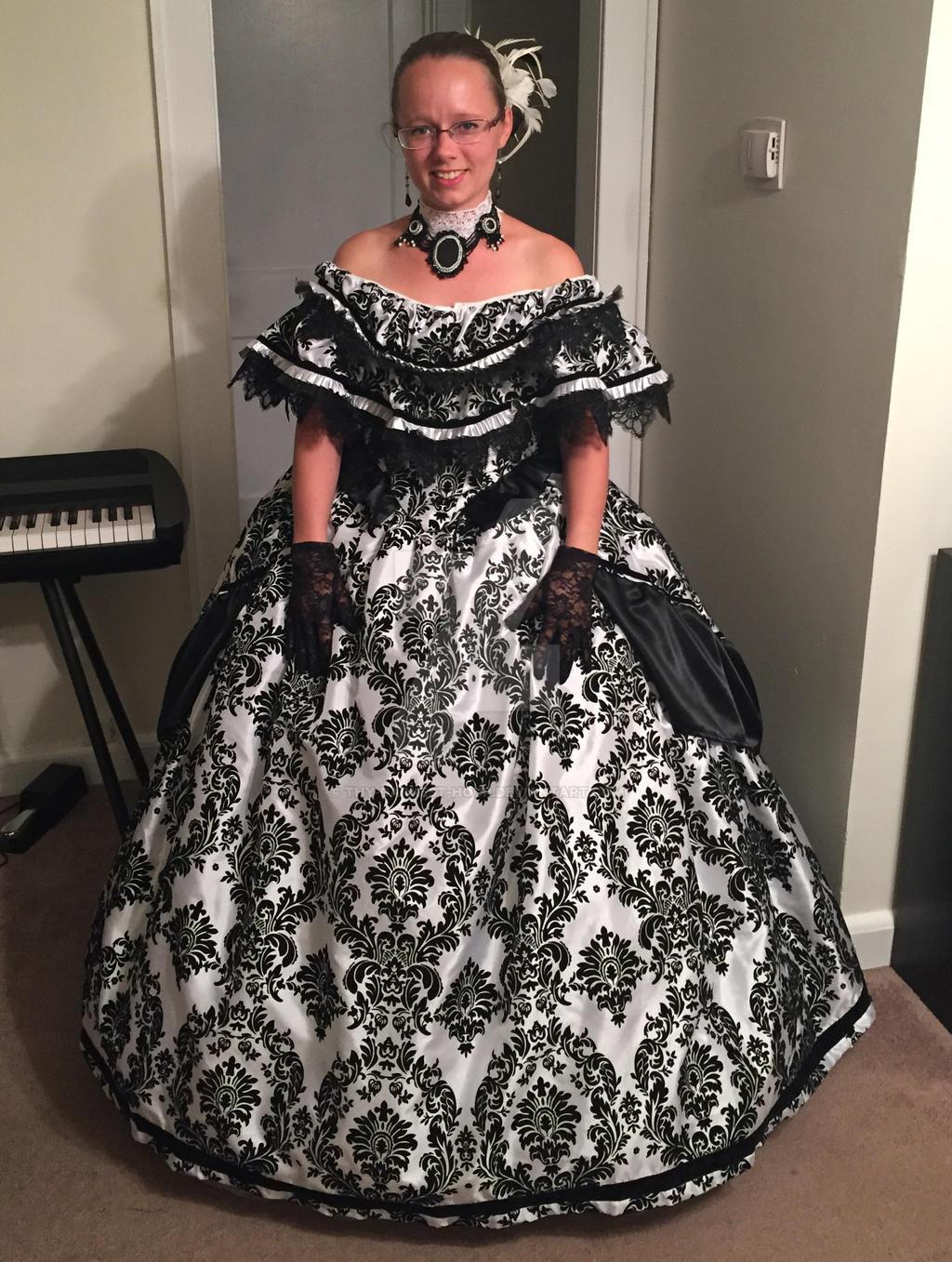 Civil War Ballgown by Thy-Darkest-Hour