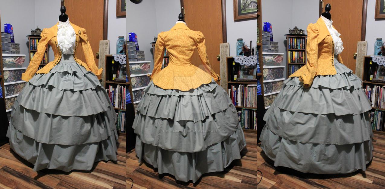 Civil War Dress 2017 by Thy-Darkest-Hour