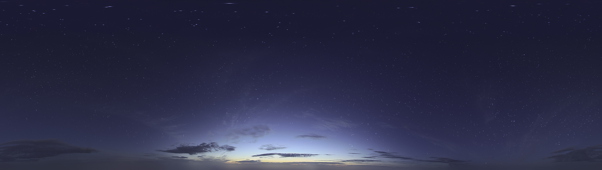 Skydome HDRI - Starlight Sky by Ardak