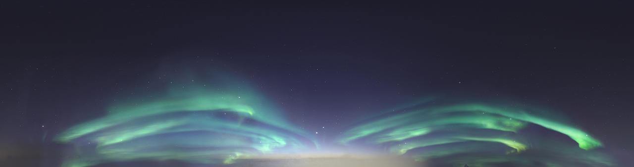 Skydome HDRI - Northern Lights by Ardak