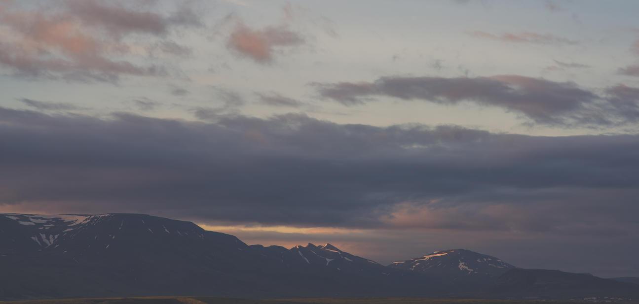 Veiled Peaks by Ardak