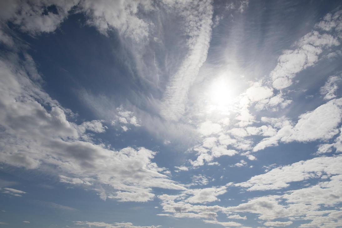 Day Sun Clouds by Ardak