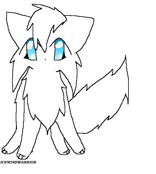 Cat Vector Line Art Anime