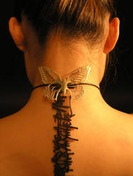 Butterfly Backlace