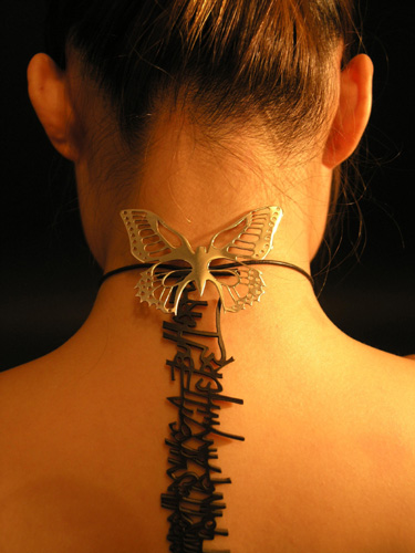 Butterfly Backlace by LittleRedx
