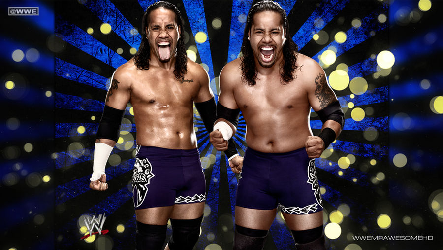 WWE The Usos Background With Logo