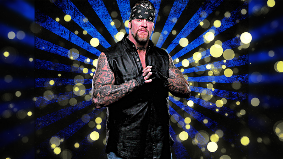 WWE Old The Undertaker Background No Logo By MrAwesomeWWE