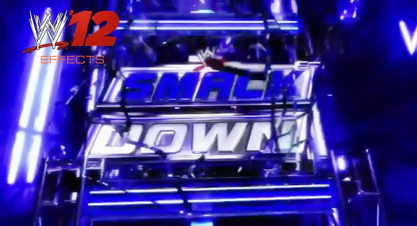 WWE Smackdown 2nd Background No Logo By MrAwesomeWWE