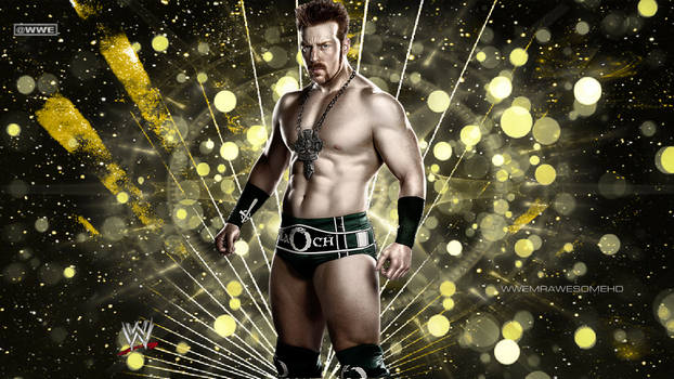 WWE Sheamus Background With Logo