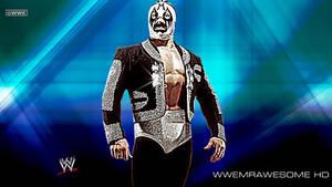 WWE Mil Mascaras Background With Logo