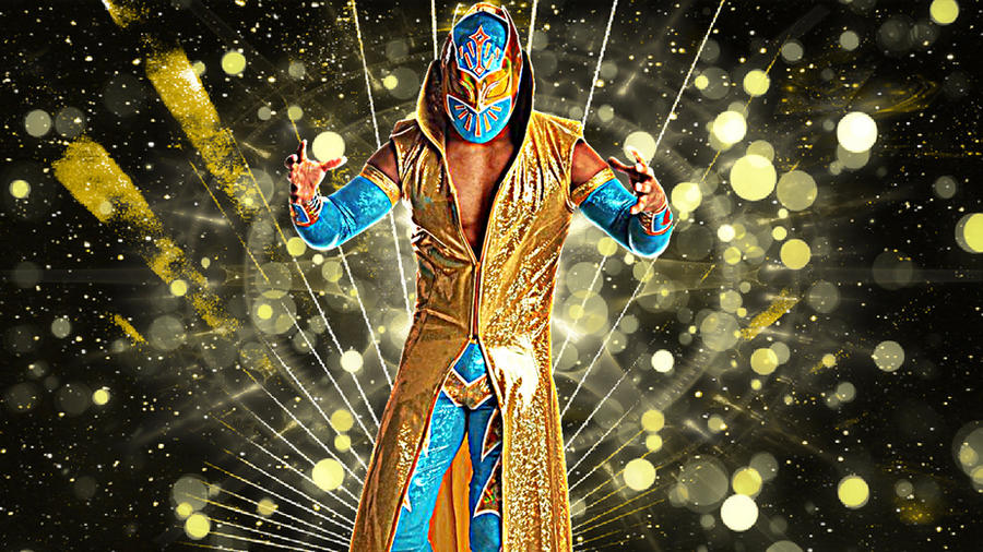 Night Wallpaper No Logo By Ualgreymon On Deviantart: WWE Sin Cara Background No Logo By MrAwesomeWWE On DeviantArt