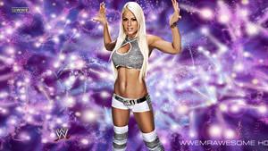 WWE Maryse Background With Logo