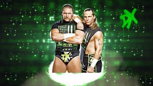 WWF D-Generation X Background No Logo