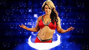 WWE Kaitlyn Background No Logo