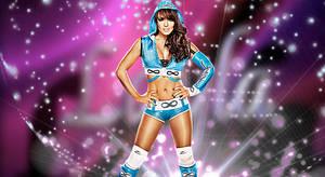 WWE Layla Background No Logo HD
