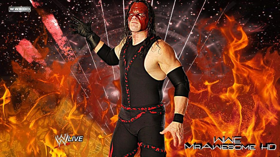 WWE Kane 2012 Background With Logo HD