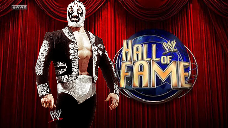 Hall Of Fame Wallpaper: WWE Mil Mascaras Hall Of Fame Background By MrAwesomeWWE
