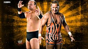WWE Jesse And Festus Background HD