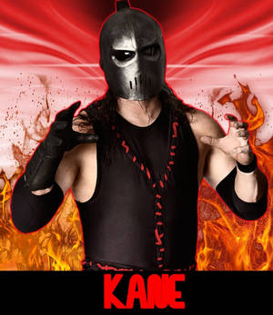 Kane Custom WWE Card