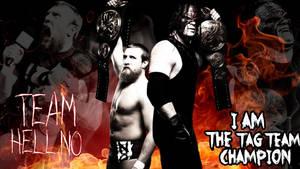 Team Hell No 2012 WWE Custom Wallpaper