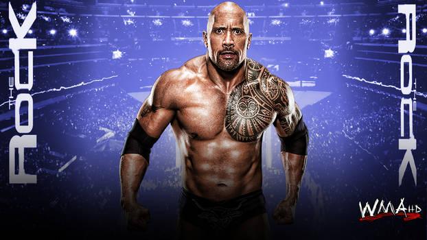 The Rock Custom WWE Design.