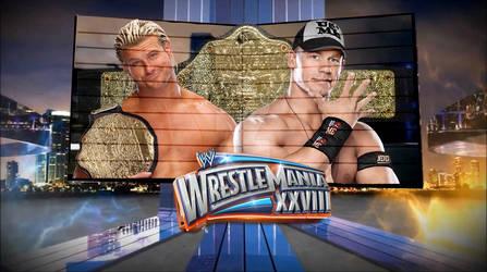 WWE Wrestlemania 28 - Cena vs Ziggler WHC Champ
