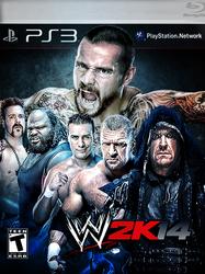 WWE2K14 Custom Cover