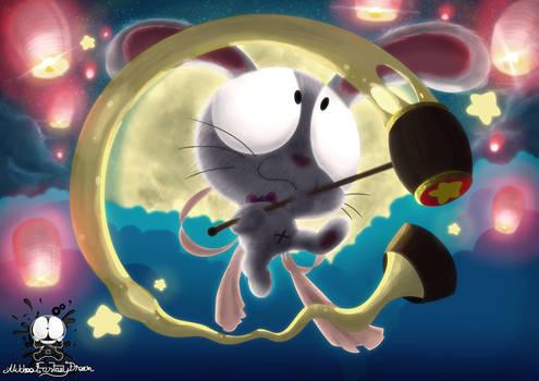 Mid Autumn Moon Rabbit