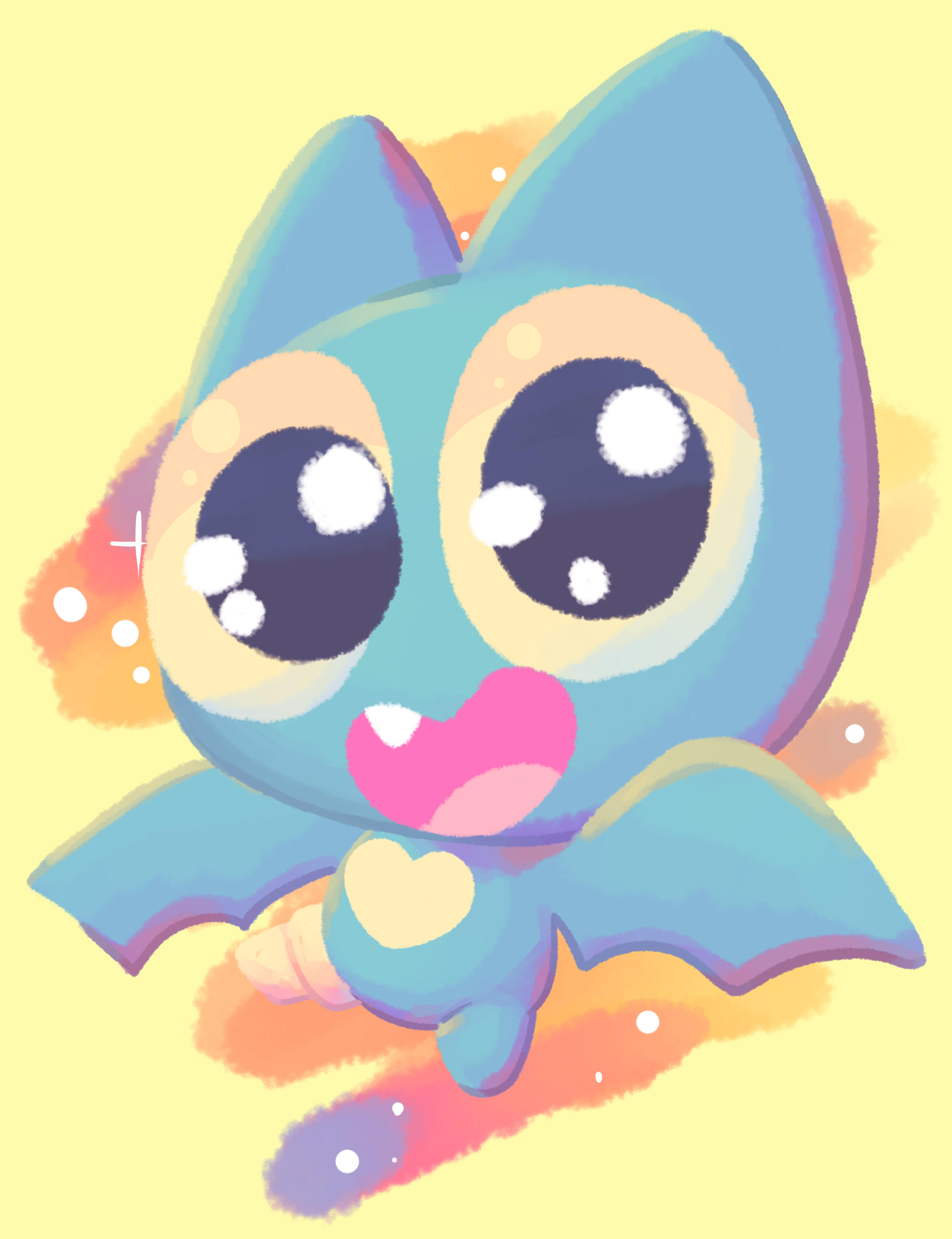 Adorabat Pastel Color 1 By Charunikkoo On Deviantart See more ideas about kawaii, cute illustration, cute art. adorabat pastel color 1 by