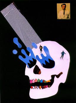 Collage skull