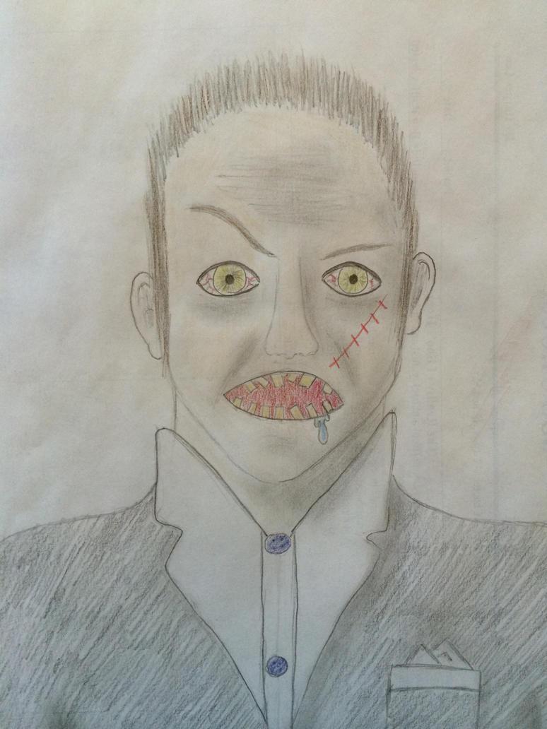 Boo Radley by OwlsWithFins on DeviantArt To Kill A Mockingbird Jem Drawing