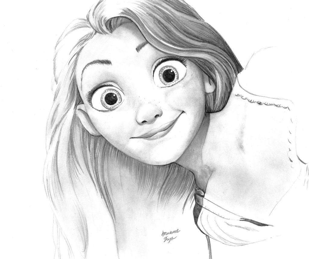 Tangled Drawing Tumblr