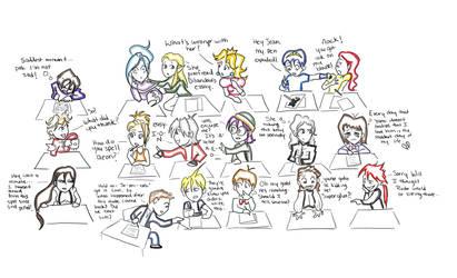 English Class by LeZeedyMan