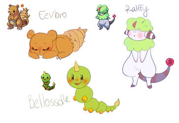 pokemon fusion #4 by sweetapril6
