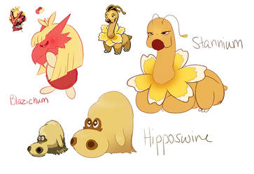 pokemon fusion #8 by sweetapril6